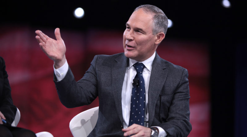 Scott Pruitt Submits Resignation